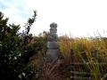美人塚の五輪塔